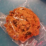 The Bruegger's Bagels oatmeal raisin pecan cookie is to die for. Their bagel sandwiches are heavenly too!