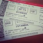 En azindan bishkek^in havaalanindan güzel ya (: burdaki calisan personellere de teşekkür ederim (: