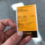 Билет до города на поезд