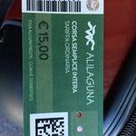 """От аэропорта в центр города и обратно: можно доехать на водном автобусе """"A"""" за 15€/чел. Доставит прямо в центр Венеции, например, Риальто. Маршрут от Аэропорта до площади Сан Марко."""