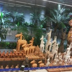 It talks about Indian culture and it is well rolled arround each places in airport.