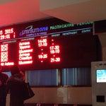 В шымкентском аэропорту висит ламповое табло в ретро стиле. Попробуйте глядя на него угадать какой статус у вашего рейса... Регистрация, посадка или он уже улетел? Щщс ))