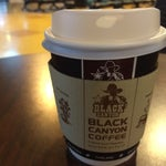 If you're Serenade member, don't forget a cup of free coffee at Black Canyon Coffee stand.