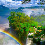 """Compared to some other waterfalls around the globe, these will certainly impress you the most both in size as well as the """"power of the water""""."""