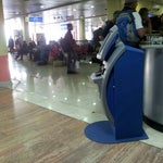 Flying Keyna Airways. Skip the lines, Use the self checking kiosks