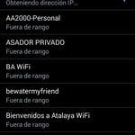Este wifi es re pirata Ojo con los datos si te conectas desde una notebook o un smart Es prefible usar el cel con 3G de modem.