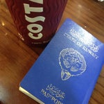 I like drink Americano from costa when I want to travel