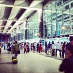 One of the best, biggest and crowded airports of the country. There a lot of places to spend time in the airport.