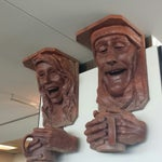 Freaky coffee heads in concourse C