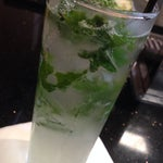 Real mint available at the RumBar in terminal D makes a Mojito a necessity!