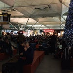 Well organized, great waiting area with lots of places to eat, to buy.. Great airport!