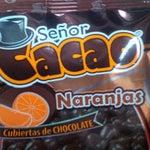 Brutales los chocolates SR. CACAO que venden en la PARADA INTELIGENTE del Aereopuerto Internacional.