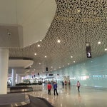 By the far the cleanest airport I've been in China.