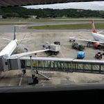 Lindo aeroporto. Ótima vista para decolagen.