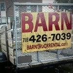 Barn Truck Rental