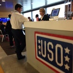 A brand new USO just opened at JetBlue's Terminal 5. It's available to all military personal and their families and located in the arrivals hall near baggage carousels 2 and 3.