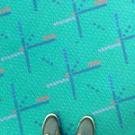 The cosiest airport of all. Free Wi-Fi and plenty of power outlets. Take a foot selfie with the green carpet before they tear it down.