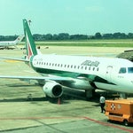 ALITALIA passengers get free WiFi by tapping into their network with an airline ticket code. Smokers: there is a four-sided, see-through, glass-walled smokers lounge on the 2nd floor