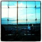"""Aeroportos estilo """"Up in the Air"""" são sempre legais."""