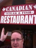 Canadian Steak & Fish Sandwich