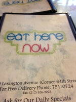 Eat Here Now