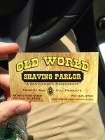 old world shaving parlor