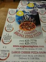 Gianni's Bronx Style Pizza
