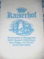 Kaiserhof Restaurant & Biergarten