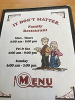 It Don't Matter Family Restaurant