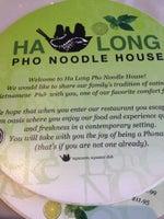 Ha Long Pho Noodle House