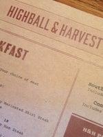 Highball & Harvest
