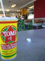 Tom's #1 World Famous Chiliburgers