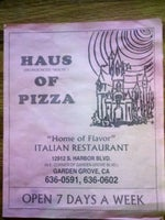 Haus of Pizza