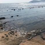 鬼の洗濯板 (青島の隆起海床と奇形波蝕痕)