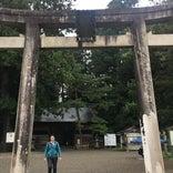 羽黒山 随神門(旧仁王門)