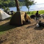 小野川湖畔の家キャンプ場