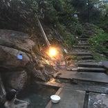 木賊温泉岩風呂
