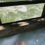 欅平 足湯