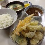 天ぷら定食 ふじしま