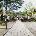 上杉神社稽照殿