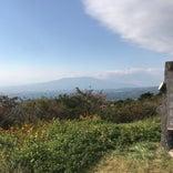 滝知山展望台