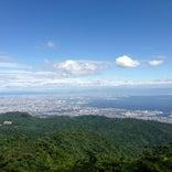 六甲山山頂 展望台