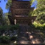 明通寺 三重塔