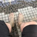 湯の川温泉足湯「湯巡り舞台」