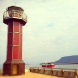 高松港玉藻防波堤灯台 (せとしるべ・赤灯台)