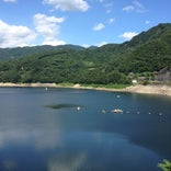 草木ダム 展望台