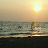 検見川の浜