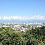 呉羽山公園展望台