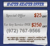 Water Heater Services TX