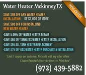 Water Heater Mckinney TX